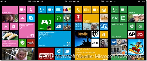Windows Phone Screenshots